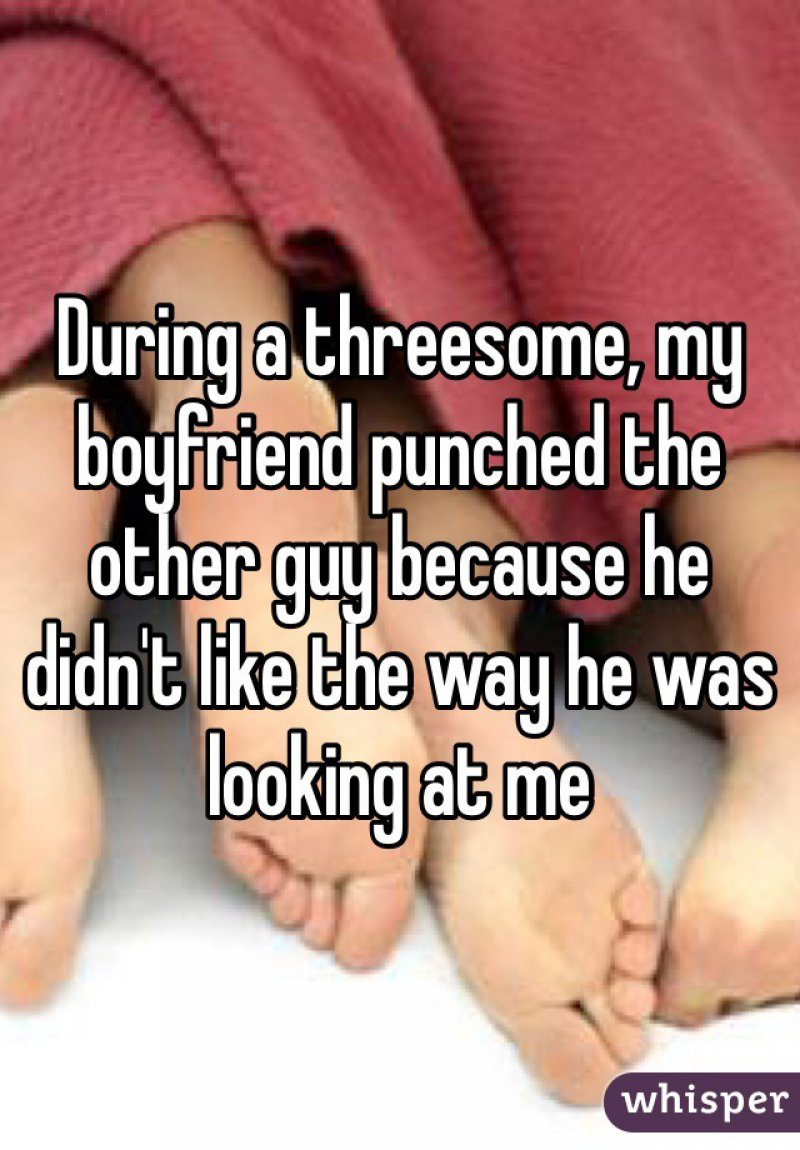 This Aggressive Dude-15 People Confess Their First Threesome Experience