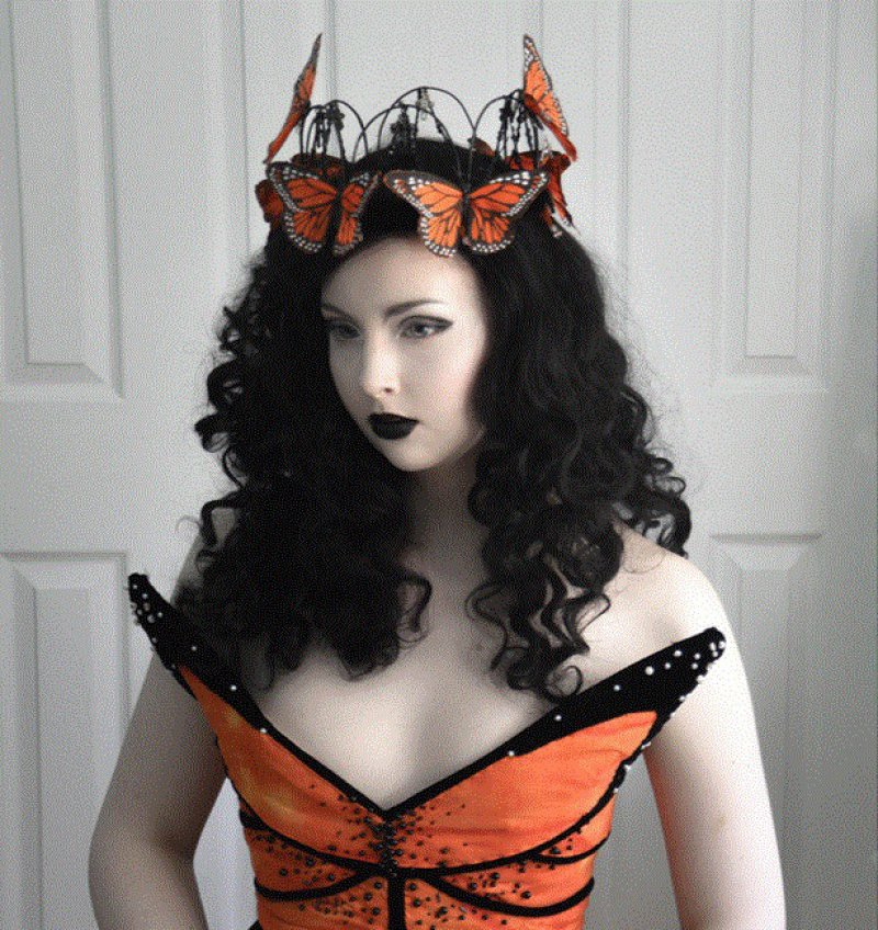 Gothic Butterfly Costume-Meet The Girl Who Sews Her Own Cosplay Dresses