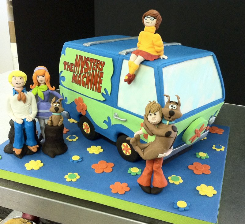 Scooby Doo Cake-15 Amazing 3D Cartoon Model Cakes Ever