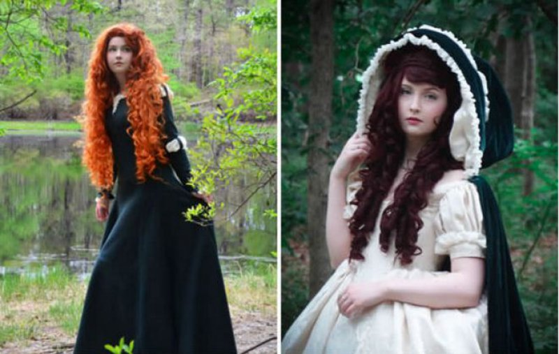 Princess Merida Costume-Meet The Girl Who Sews Her Own Cosplay Dresses