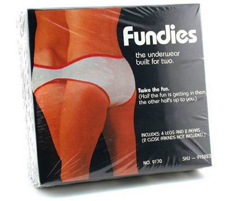 Fundies - The Undies for Two -15 Disgusting Valentine's Day Gifts Ever