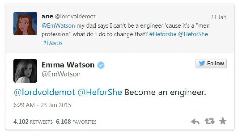 This Perfect Reply-15 Reasons Why Emma Watson Is The Perfect Beauty With Brain Girl