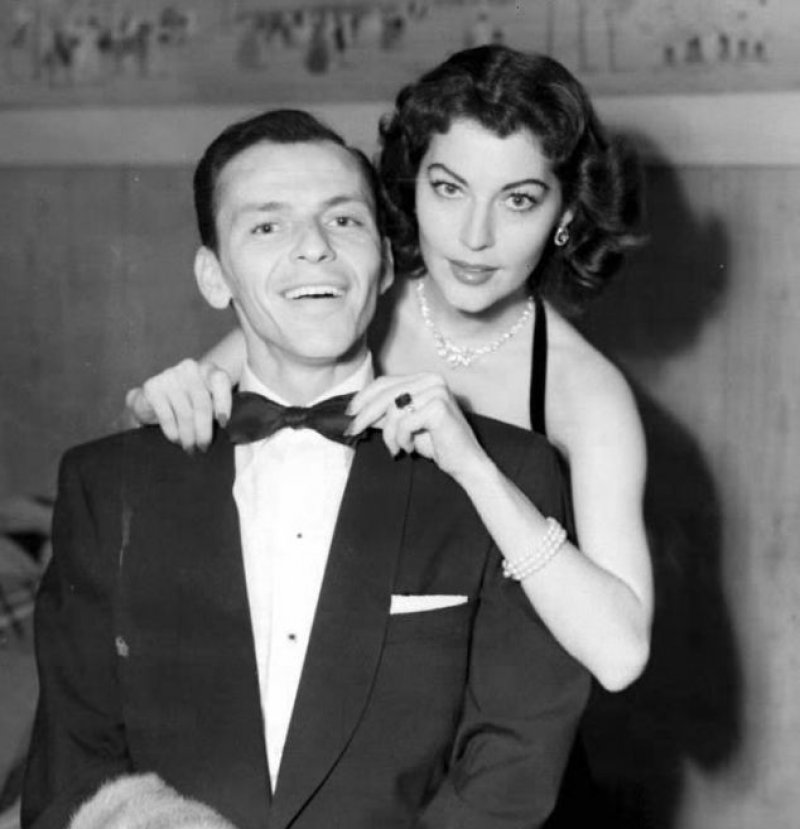 Frank Sinatra Cheated on His Wife with Ava Gardner-15 Celebrities Who Cheated On Their Partners