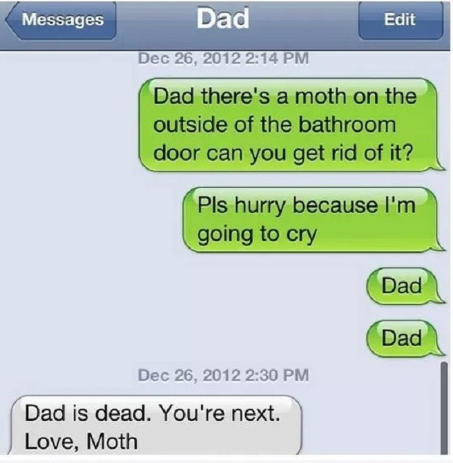 This Dad With Great Sense of Humor-15 Hilarious Texts From Dads