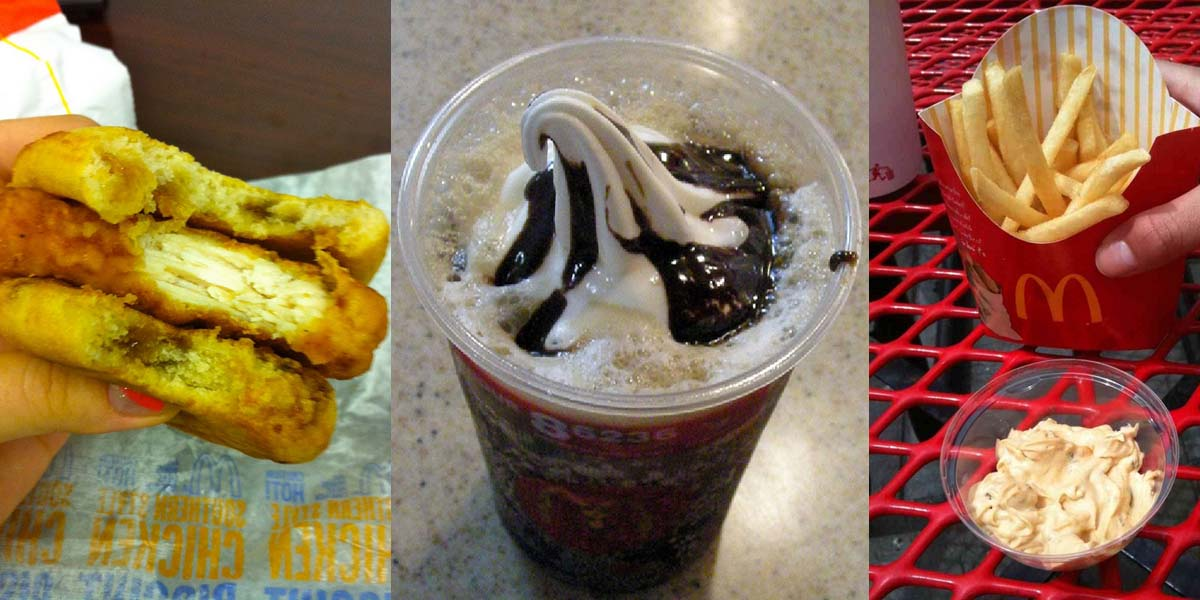 McDonald's secret menu items you didn't know
