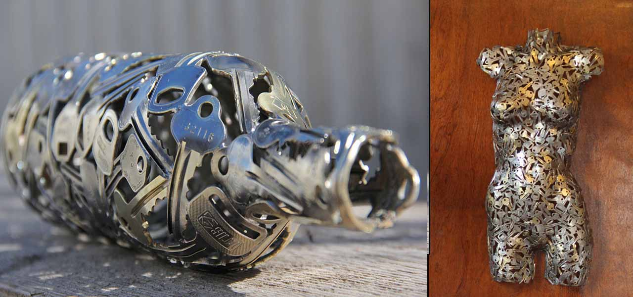 15 Beautiful Items that are Carved Out of Scrap