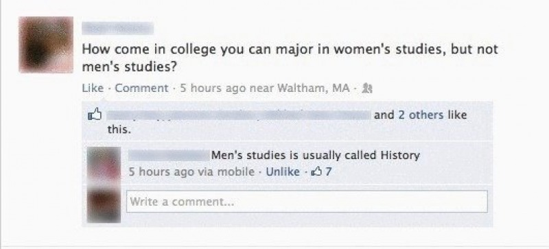 This Funny Yet Perfect Reply-15 Times Feminists Gave A Fitting Reply