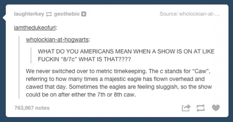 This Fitting Reply-15 Times Americans Confused Everyone On Tumblr