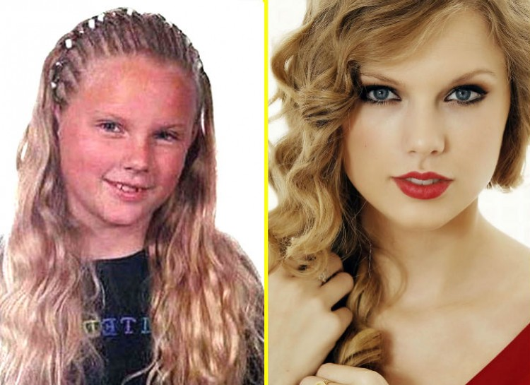 Taylor Swift-15 Images That Show Puberty Doing It Right