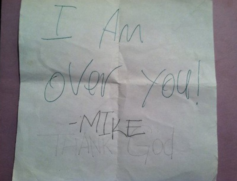 I'm Over You-15 Hilarious Notes Ever Caught By Teachers
