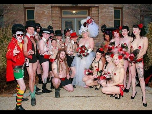 This 'Brazzers' Wedding Theme-15 Most Bizarre Themed Weddings Ever