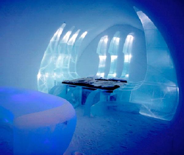 Ice Hotel-Weirdest Hotels In The World
