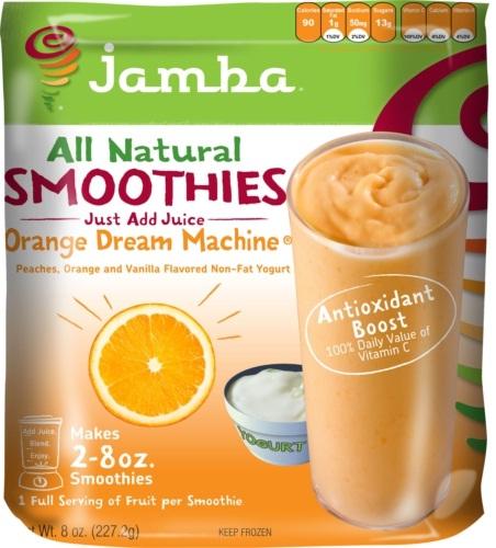 Orange Dream Machine-Jamba Juice Secret Menu Items You Didn't Know