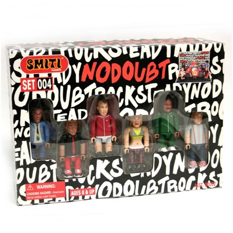 No Doubt Action Figures-Weird Merch Items You Won't Believe Actually Exist