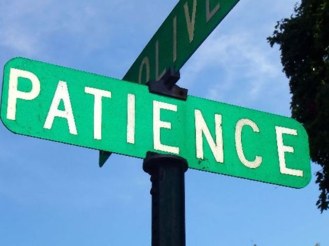 Patience-Things That Money Can't Buy