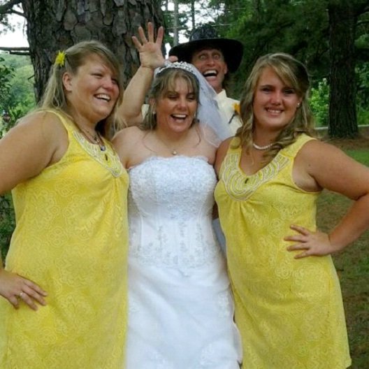 Psycho In The Woods-Best Wedding Photo Bomb