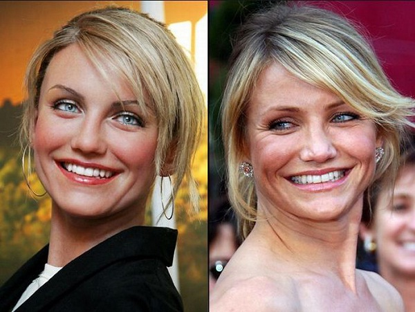 Cameron Diaz-Celebs With Their Wax Statues