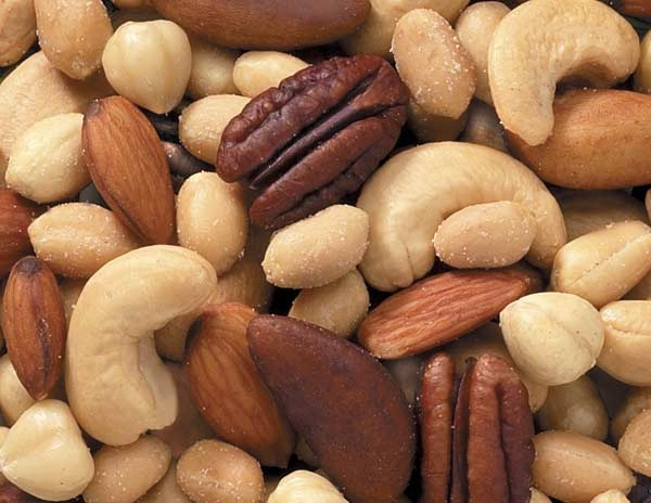 Nuts-Foods That Cause Acne