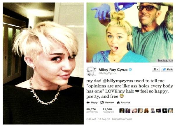 Miley Cyrus-Funny Celeb Tweets