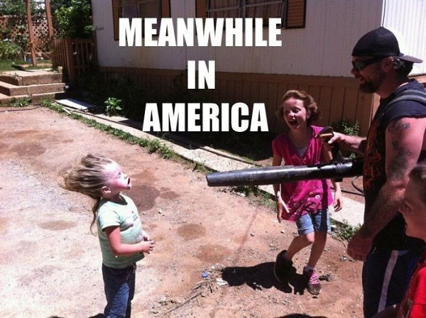 A redneck hairdryer-Best Meanwhile In America Memes