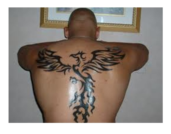 Tribal Phoenix-Amazing Looking Phoenix Tattoos