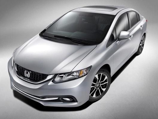 Honda Civic-America's Most Stolen Cars