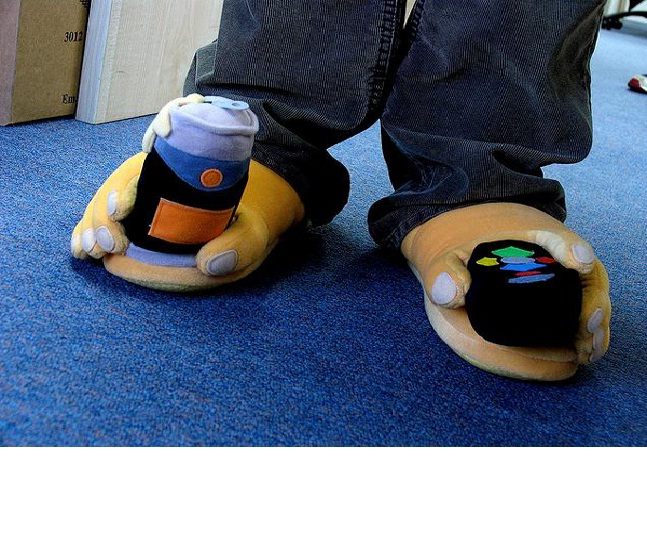 Beer Can Slippers-12 Craziest Slippers You'll Ever See