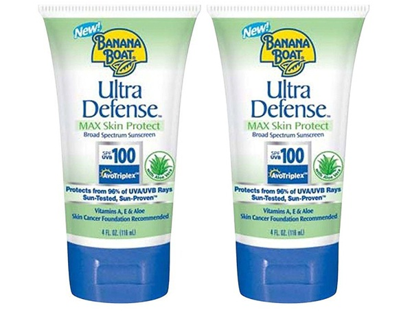 Banana Boat Ultra Defense SPF 100-Best Sun Care Products