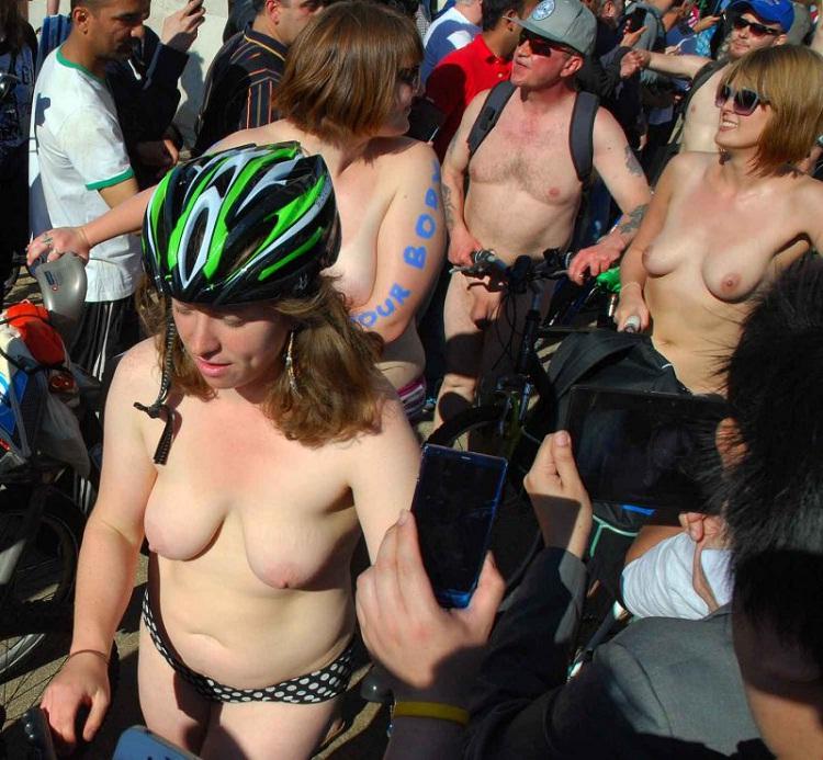 London Bike Rides-12 Bizarre Naked Events Ever