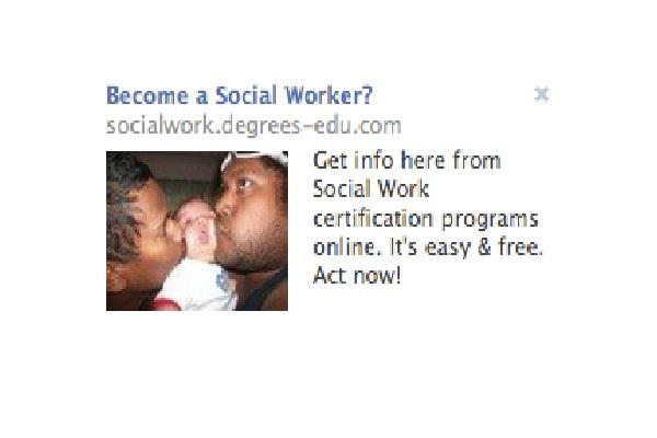 Social worker again?-Worst Facebook Ads