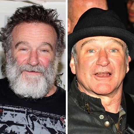 Robin Williams-12 Images That Show A Beard Makes You Look Different