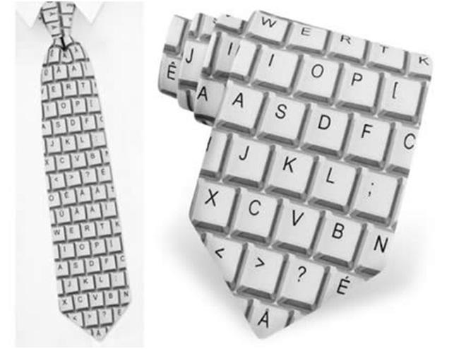 Keyboard-Geekiest Ties