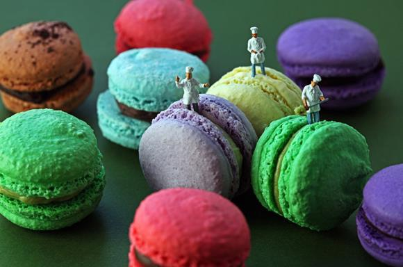 Colorful bakers-Adventures Of Tiny People In The World Of Food