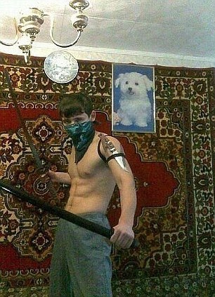 Me ninja warrior!!-Scary Russian Dating Site Pictures