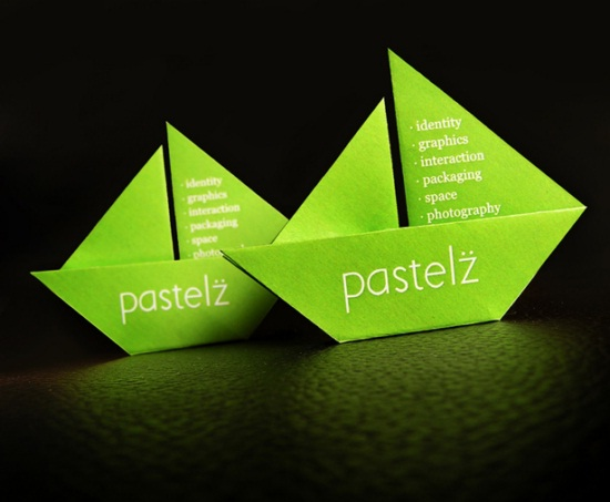 Color-Most Creative Business Cards