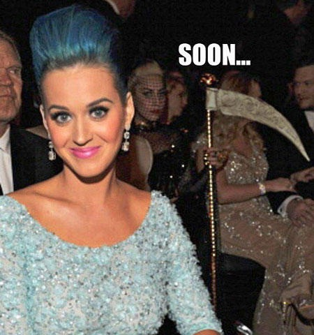 Gaga and her revenge-23 Hilarious Katy Perry Memes Ever Made