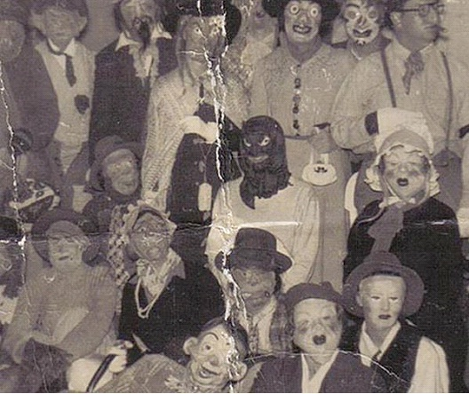 Demented Crew-Most Terrifying Vintage Halloween Costumes Ever