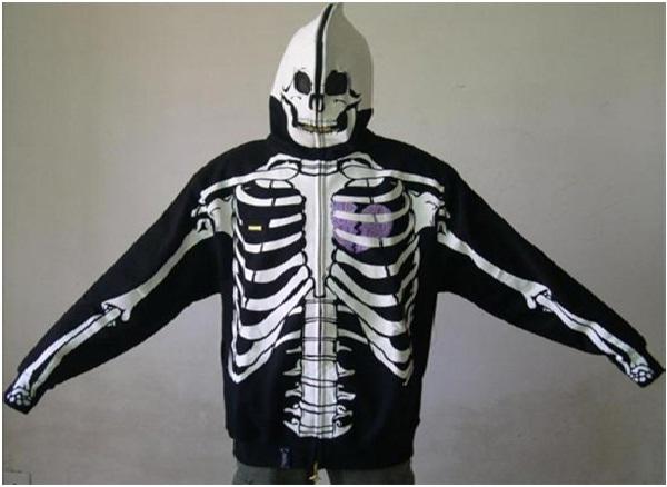 Skeleton-Cool Hoodies