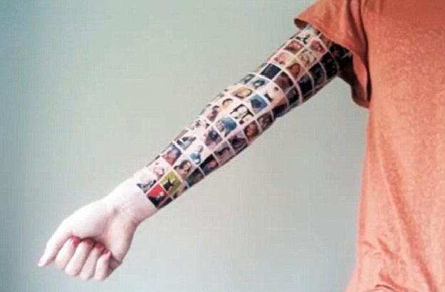 Facebook friends-Wackiest Internet Inspired Tattoos