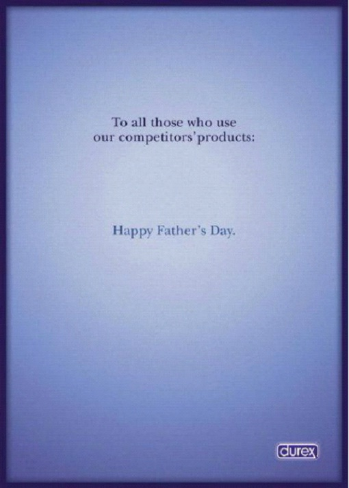 Happy Father's Day-Most Creative Durex C0ndom Ads