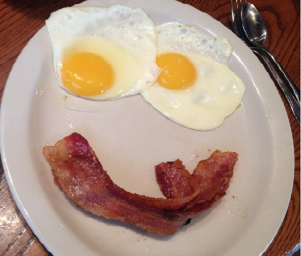 9. Bacon and eggs-Fascinating Facts About Bacon
