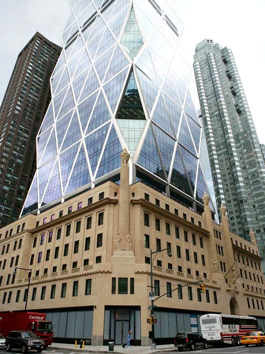 Hearst Tower - New York City-Most Beautiful Architectural Structures In The World