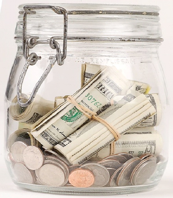 Place Money You're Saving In Jar-How To Quit Smoking