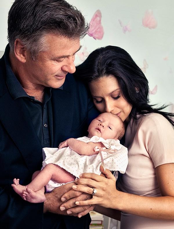 Alec Baldwin-Celebrity Babies Born In 2013