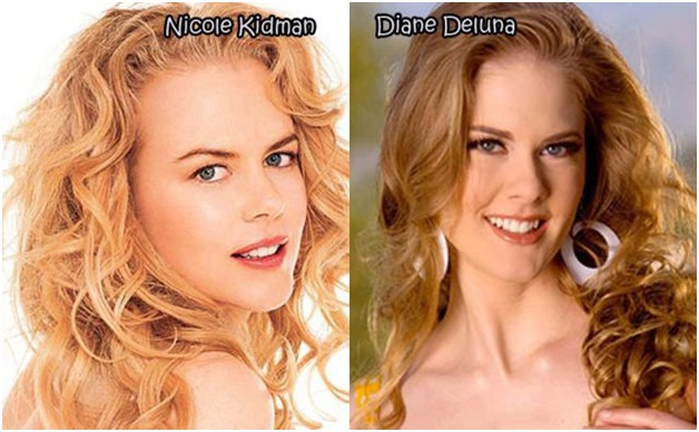 Nicole Kidman Vs. Diane Deluna-Celebrities & Their Pornstar Lookalikes