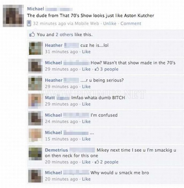 Face palm-12 Most Embarrassing Yet Hilarious Facebook Posts You'll Ever Read