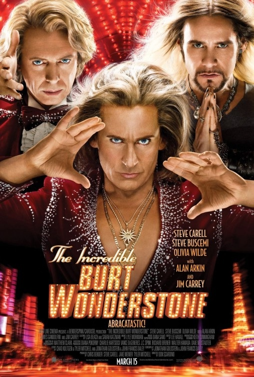 The Incredible Burt Wonderstone-Best Movies About Magic/magicians