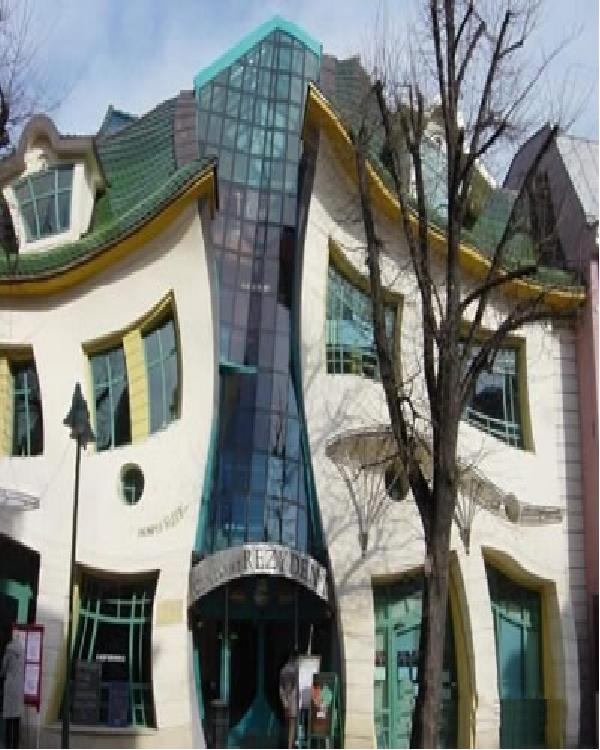 The warped house-Weirdest Houses In The World