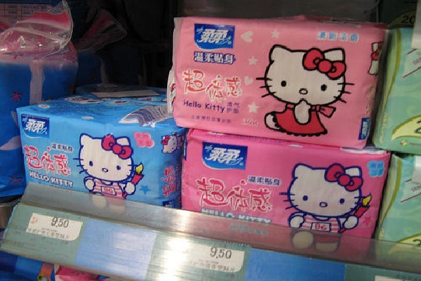 Tampons?-Crazy Products Inspired By Hello Kitty