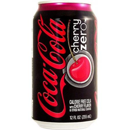 Coca-Cola Cherry Zero-Best Diet Soda Brands
